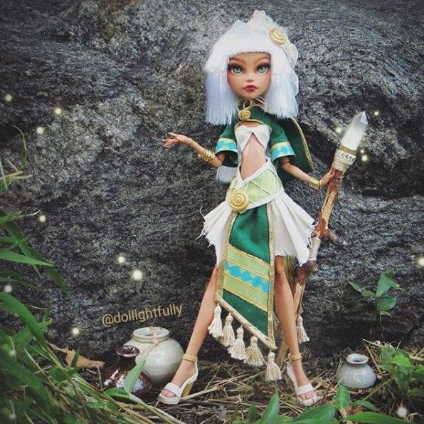 bonecas - Amazona
